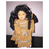 Hertiage Collection Native American Girl