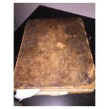 "Antique ""1827"" Holy Bible"