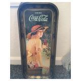 Coca Cola Metal Tray