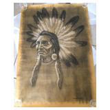 Native American Potrait by Richard A Roberts