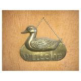 Brass Duck Welcome