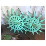 Vintage Cast Wheels