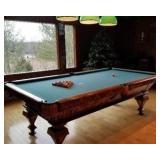 Inlaid Slate full size Billiard table