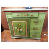 DUTCH PAINTED CABINET