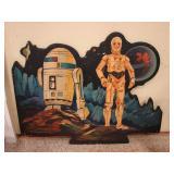 1977 McDonalds wall art Star Wars