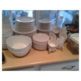 White dish set by Faberware