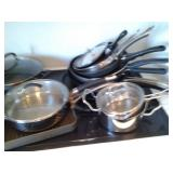 Kitchen-pots and pans