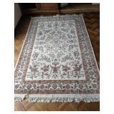 Hand made rug, 100% wool