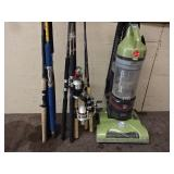 Fishing Poles/Vacuum