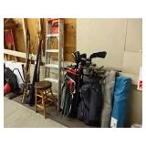 Ladders/Golf Clubs
