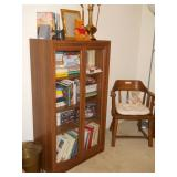 bookcase, books, captain