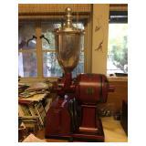 Antique Hobart coffee grinder.