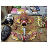Sri Lankan Devil masks