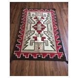 Beautiful Indian rugs.