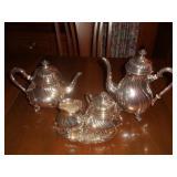 Silverplate Tea/Coffee Service
