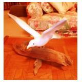 Ceramic on Driftwood