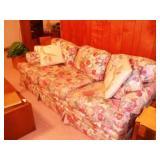 Clayton Marcus Floral Sofa