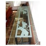 Etched Glass Top