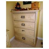 Pickled Oak Chest of Drawers