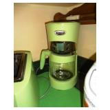VTG Hamilton Beach Apple Green Coffee Maker