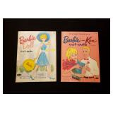 Vintage Barbie & Ken Paper Dolls