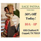 SAGE PATINA Hosts Classy Coppell Vintage to New Estate Sale!  50% Off Today!