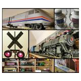SAGE PATINA Hosts Trains Galore & More North  Richland Hills Estate Sale! 50% Off Today!