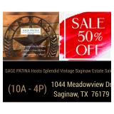 SAGE PATINA Hosts Splendid Vintage Saginaw Estate Sale! 50% Off Today!