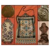 Vintage Metal Enamel Mesh Purses/Bags