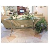 Glass Top Coffee Table -- $150.00