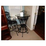Pub Table w/ 2 Chairs--$175.00
