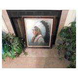 Indian Chief Picture -- $ 75.00