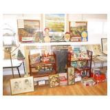 LIFELONG COLLECTOR Antiques Ephemera Furnishings Art Holiday Lawn/Garden