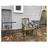 Hitch Platform, 4 Chairs, and Table
