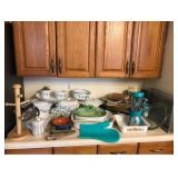 Large Lot of Baking and Kitchen Storage