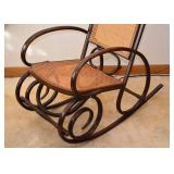SOLD--Lot #504, Vintage Bentwood Rocker / Rocking Chair, $80