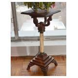 BUY IT NOW-LOT #112, Antique Pedestal Plant Stand, $65