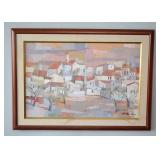 BUY IT NOW-LOT #126, Original Framed Oil Painting by Chicago Artist Hilda Rubin Pierce, $200