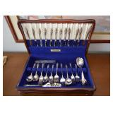 BUY IT NOW-LOT #134, Community Silver Plate Flatware Set in Box, $300, (82 Total Pieces)