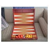 BUY IT NOW-LOT #155, Vintage Backgammon Set (Large), $60