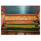 BUY IT NOW-LOT #157, Vintage Mah Jong Set (Genuine Catalin), $250