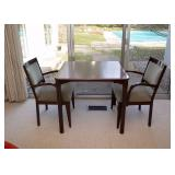 BUY IT NOW!  Lot #114, Vintage Card / Game Table with 2 Chairs (Italian), $400