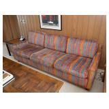 BUY IT NOW!  Lot #116, Cool Vintage 3-Seat Sofa, $300