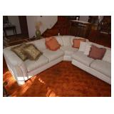 BUY IT NOW!  LOT #204, Vintage Sectional Sofa (3 Pieces), $300