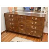 SOLD--LOT #219, Vintage Chest of Drawers (12-Drawer), $150