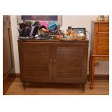 SOLD--LOT #227, Vintage 2-Door Storage Cabinet, $30