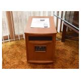 BUY IT NOW!  LOT #229, Life Smart (Amish-Style) Infrared Heater with Instructions & Remote, $50
