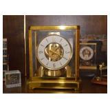 SOLD--LOT #421, LeCoultre Mantle Clock (1960