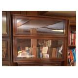 BUY IT NOW--LOT #424, 2-Stack Barrister Bookcase, $240