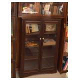 BUY IT NOW--LOT #425, Bookcase with Double Glass Doors, $150